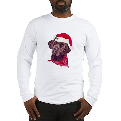 Chocolate Lab Christmas Shirt