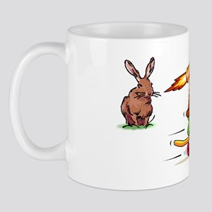 Rocket Propelled Tortise Beats the Hare Mug