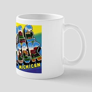 Battle Creek Michigan Greetings Mug