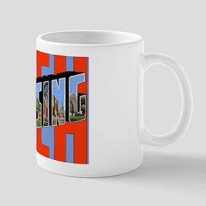 Lansing Michigan Greetings Mug