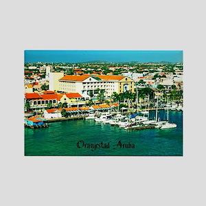 Orenjestad Aruba Rectangle Magnet