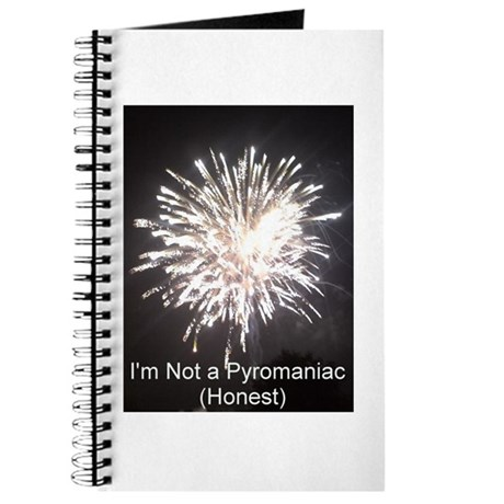 I'm not a pyromanic (honest) Journal