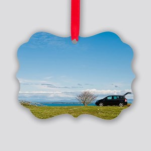 Countryside holiday Picture Ornament