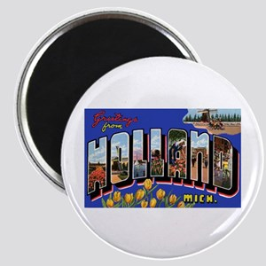 Holland Michigan Greetings Magnet