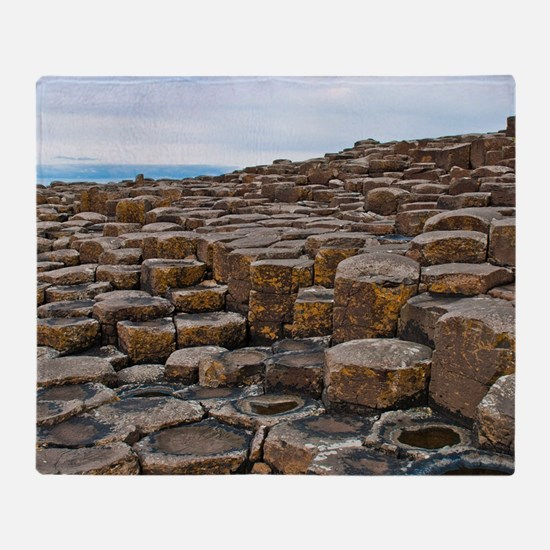 Giants Causeway Throw Blanket