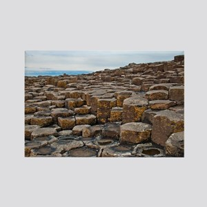 Giants Causeway Rectangle Magnet