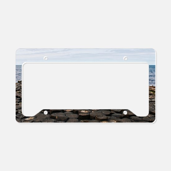 Giants Causeway License Plate Holder