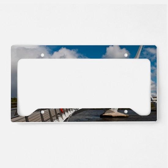 Peace Bridge License Plate Holder