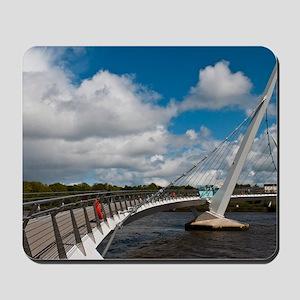 Peace Bridge Mousepad