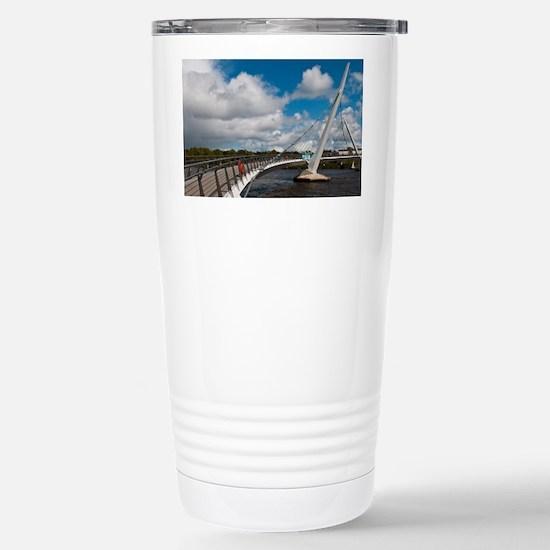 Peace Bridge Stainless Steel Travel Mug