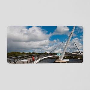 Peace Bridge Aluminum License Plate
