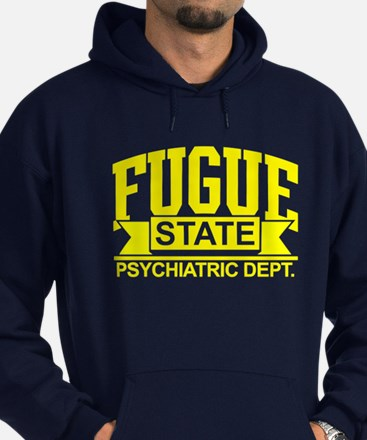 Fugue State Psychiatric Dept. Hoodie
