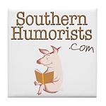 Southern Humorists Tile Coaster