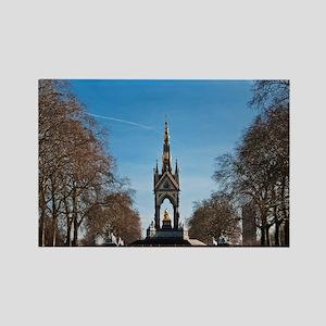 Albert Memorial in Kensington Gar Rectangle Magnet