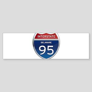 Delaware Interstate 95 Bumper Sticker