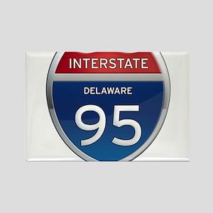 Delaware Interstate 95 Magnets