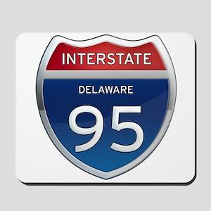 Delaware Interstate 95 Mousepad