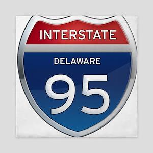Delaware Interstate 95 Queen Duvet