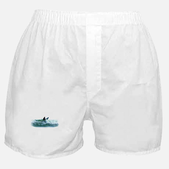 Surfing Wave Boxer Shorts