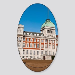 Admiralty House Sticker (Oval)