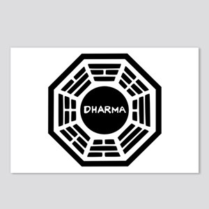 Dharma Initiaive Logo Postcards (Package of 8)