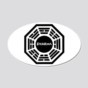 Dharma Initiaive Logo Wall Decal
