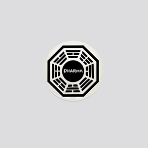 Dharma Initiaive Logo Mini Button