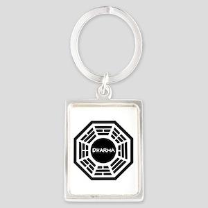 Dharma Initiaive Logo Keychains