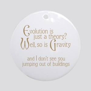 Evolutionary Theory Ornament (Round)