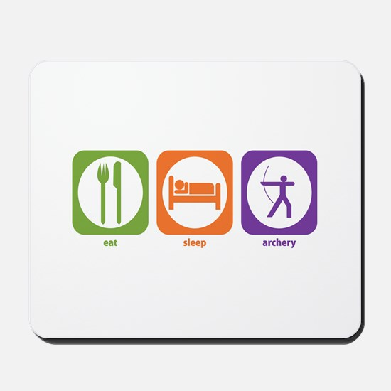 Eat Sleep Archery Mousepad
