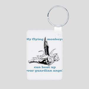 flyingmonkey Aluminum Photo Keychain