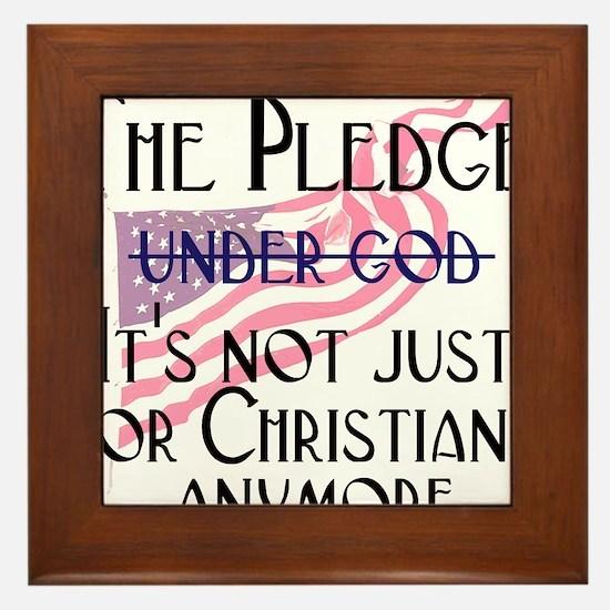 pledge1.png Framed Tile