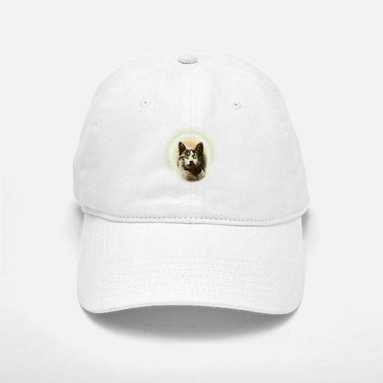 God Cat Baseball Baseball Cap