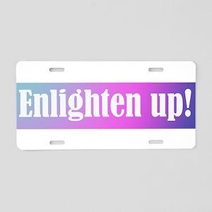 enlightenup1 Aluminum License Plate