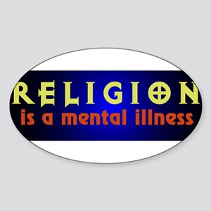 mentalillness Sticker (Oval)