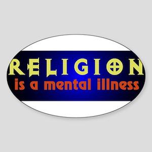 mentalillness Sticker (Oval)