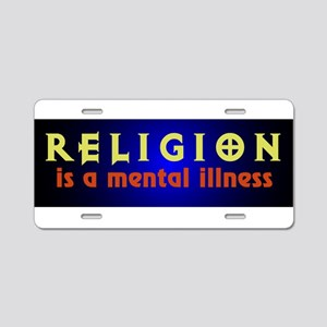 mentalillness Aluminum License Plate