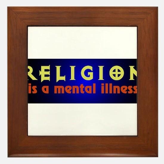 mentalillness.png Framed Tile