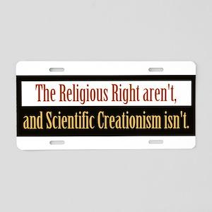 religiousrightarentbs Aluminum License Plate