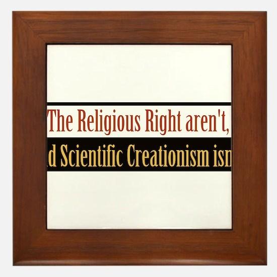 religiousrightarentbs.png Framed Tile