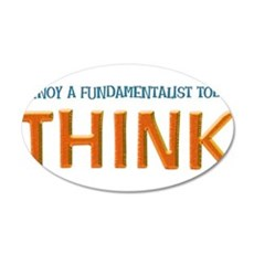 think Wall Decal