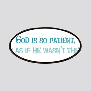 God is So Patient Patches