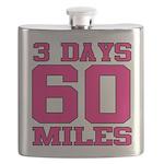 3 Days 60 Miles Flask