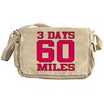 3 Days 60 Miles Messenger Bag