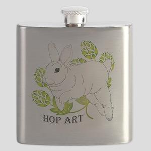 Hop Art Flask