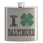 Baltimore Irish Flask