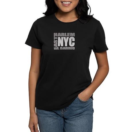 "East Harlem ""El Barrio"" Squar Women's Dark T-Shirt"