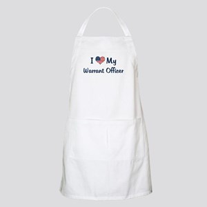 Warrant Officer: Flag Love BBQ Apron