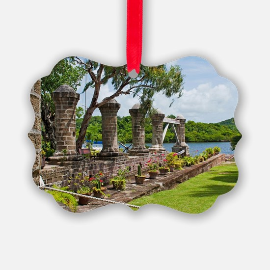 Nelson's Dockyard in Antigua Ornament