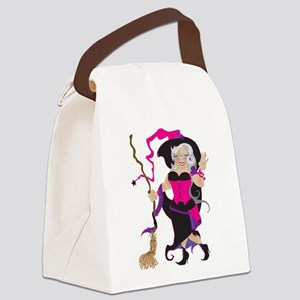 Granny Hex Canvas Lunch Bag